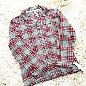 Target Other - Plaid Flannel Sleep Shirt