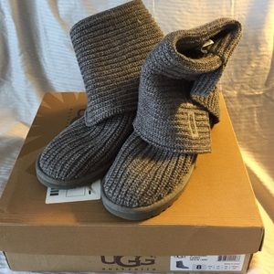 ugg classic cardy grey size 11