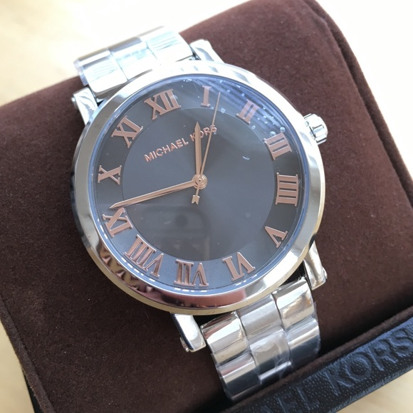 8cc1ad43458 Michael Kors Norie Stainless Steel Watch MK3559