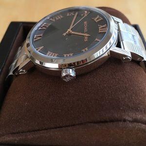 4f822698fe1 Michael Kors Accessories - Michael Kors Norie Stainless Steel Watch MK3559