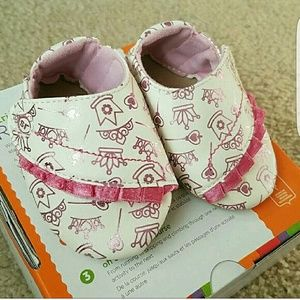 Stride Rite Other - Stride rite baby royal princess moccasins NWT