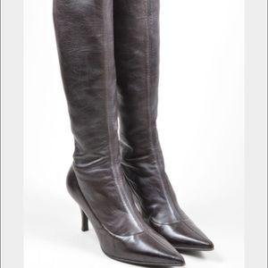 Sergio Rossi Shoes - Sergio Rossi leather boots