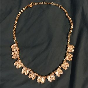 J. Crew Butterfly Necklace