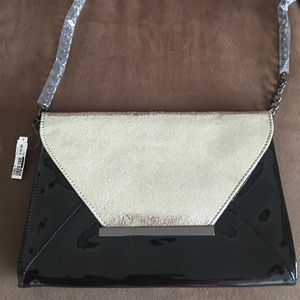 Aldo Handbags - Aldo Patent Leather Envelope Clutch