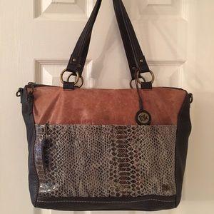 The Sak Handbags - 🛍 The Sak Brown Leather Large Tote Bag