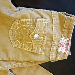Pants - TRUE RELIGION FLARE CORDS