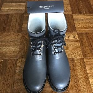 Ilse Jacobsen Shoes - Ilse Jacobsen Sz 38 Horbaek Run Rainboots