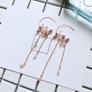 LAST ONEUNIQUE 17Basics Crystal drop earrings