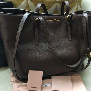 1edec92486fc Miu Miu Bags - new - Authentic Miu Miu bag in brown or black