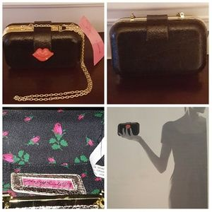 Betsey Johnson Kiss Clutch Bag