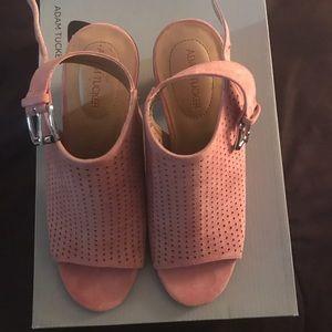 Adam Tucker Shoes - Cute Chunky Heel Booties