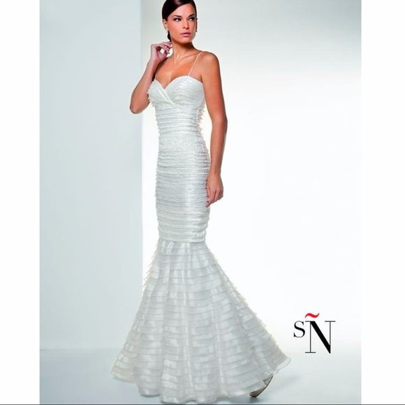 Sonia Pena Dresses | Stunning Mermaid Cut Wedding Dress By | Poshmark