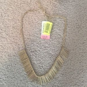 Natasha Gold Statement Necklace