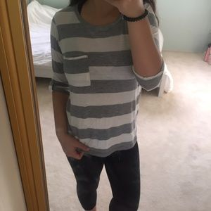 Stripped Long Sleeve   F21   S