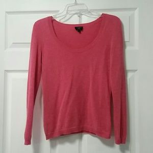Talbots Sweaters - Baby Pink 100% Cashmere Scoop Neck Sweater