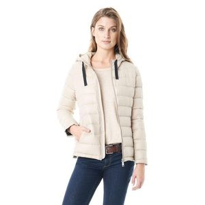 NWT Bass & Co Down Jacket Flax Beige