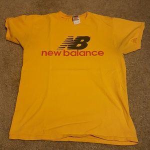 Vtg New Balance Logo tee sz M