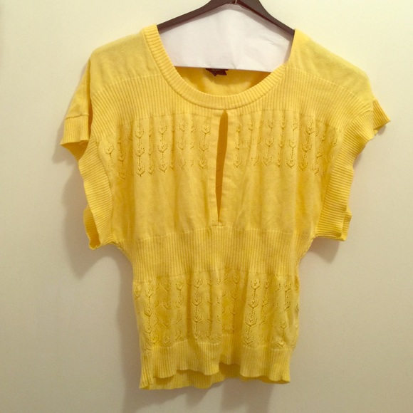 80% off XOXO Sweaters - Cute yellow sweater!! from Peta-ann's ...