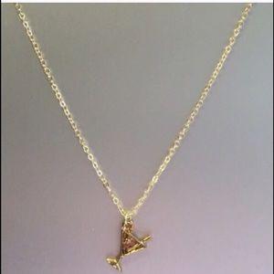 Jessica Elliot Jewelry - Gold Martini Charm Necklace 💝
