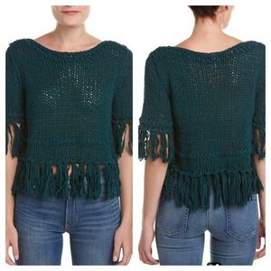 Free People Fringe Pullover Sweater