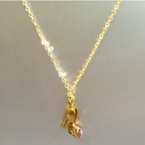 Jessica Elliot Jewelry - Shoe Charm Necklace with Swarovski Crystal 💝