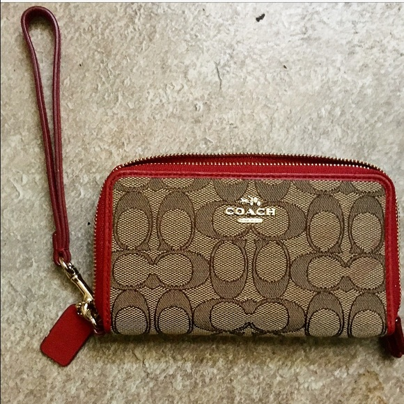 98f344e60a Coach Handbags - 45% OFF SALE UNTIL NEW YEAR Coach Wallet Wristlet