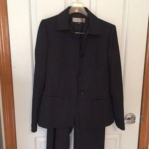 Tahari Other - Tahari black pin striped suit. Like new! Sz2P