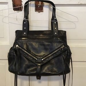Botkier Handbags - Botkier black Clyde Italian cowhide bag