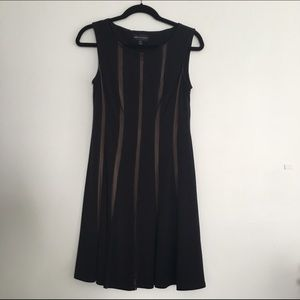 Connected Apparel  Dresses & Skirts - Connected Apparel Nude Strip Dress