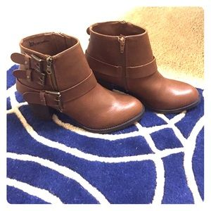 Brand New Brown Booties!!