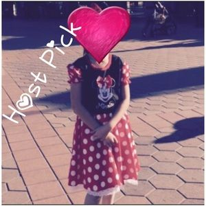 Disney Other - 🎉 HP 🎉 Girl's: Authentic Minnie Mouse Dress 👗👧
