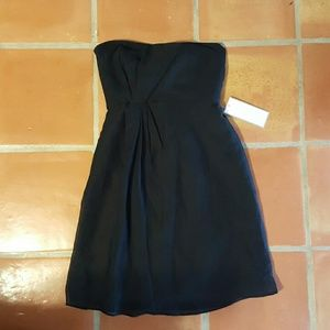 JCrew special occasions little black chiffon dress