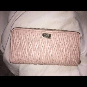 Coach Handbags - Coach blush wallet