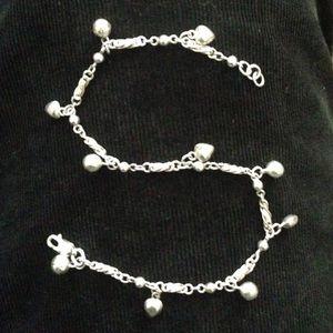 Sterling Silver Ankle Bracelet
