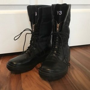 Y-3 Shoes - Y-3 never worn combat boot