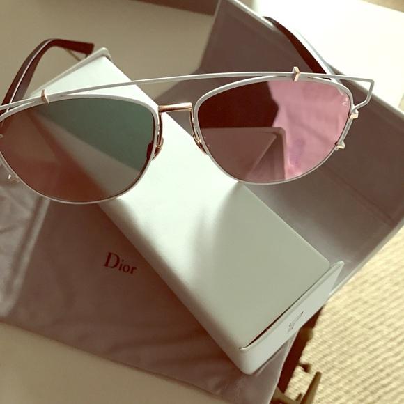Dior Accessories   Technologic Pantos Sunglasses 57mm   Poshmark a7d50462d18f