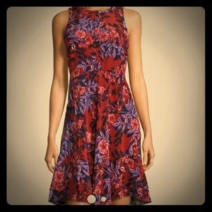 Rebecca Taylor Dresses & Skirts - REBECCA TAYLOR Sleeveless Silk Floral-Print Dress