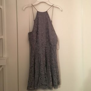 SALE Urban outfitters blue/gray halter dress