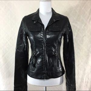 Jack by BB Dakota Jackets & Blazers - Black leather jacket