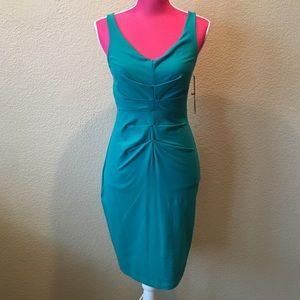 Susana Monaco Dresses & Skirts - Susana Monaco Green Gathered Dress