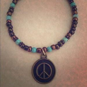 Jewelry - Bohemian Peace Charm Bracelet/Anklet