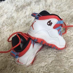 new concept 35ce1 597ce Red, White, & Blue Jordan Retro 10 Unisex