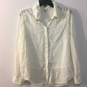 Joie Tops - Joie cream silk blouse.