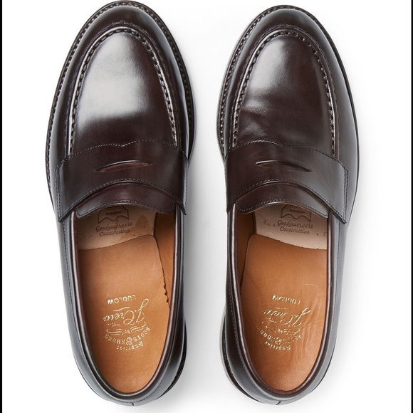 a29ebdea715 J. Crew Other - J. Crew Brown Ludlow Penny Loafers - Size 11D