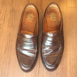 J. Crew Brown Ludlow Penny Loafers - Size 11