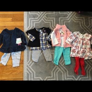 Hartstrings Other - Girls' outfit lot 6-9 months
