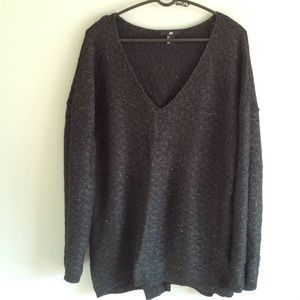 H&M Sweaters - Deep V Oversized Sweater