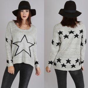 ‼️LAST ONE‼️Star Print Sweater 🌟🌟🌟