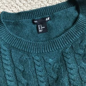 H&M cozy holiday sweater