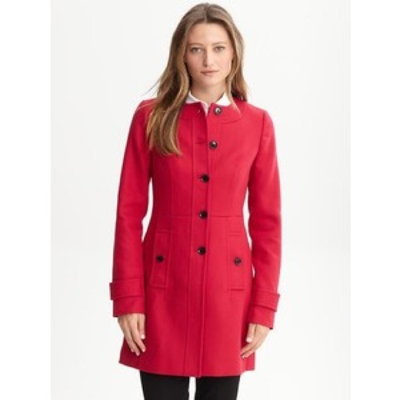 53% off Banana Republic Jackets & Blazers - Banana Republic red ...